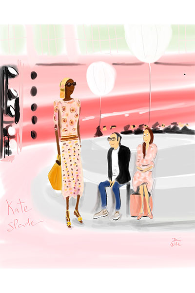 ilustración moda Dani Wilde Kate Sparde