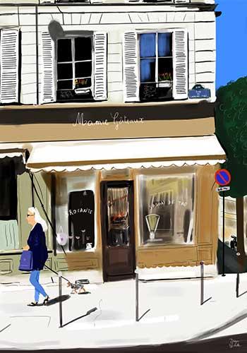 Illustration Mamie Gateaux Paris